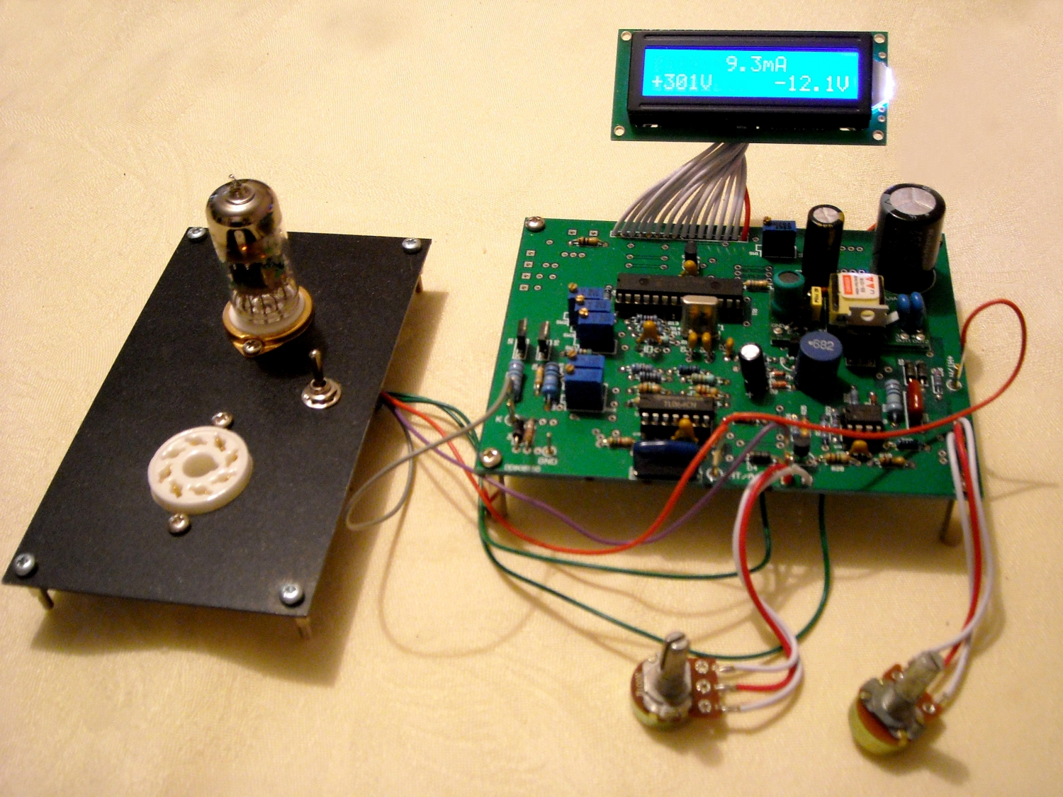 Digital Tube Tester : Digital tube tester industrial electronic components